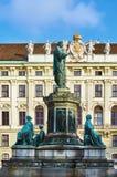 Monumentet till Franz II Arkivbilder