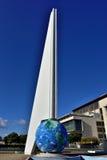 Monumentet till hjältarna av självständighet, beskådar framåt Royaltyfria Foton