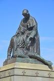 Monumentet till Jeanne Mance Arkivbilder