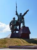 monumentet till kriger Royaltyfria Foton