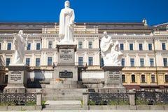 Monumentet till prinsessan Olga Cyril och Methodius, jämlike till Arkivbilder