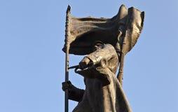 Monument till röda armémanar royaltyfri foto