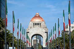 Monument till rotationen, Mexico DC. Royaltyfria Foton