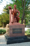 Monumentet till Semyon Duvan i Yevpatoriya crimea arkivbild