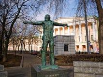 Monumentet till Vladimir Vysotsky Royaltyfri Bild