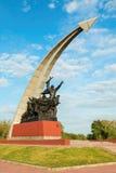 monumentet tjäna som soldat sovjet till royaltyfri fotografi