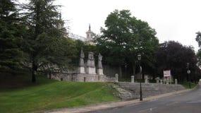 Monumenti a Burgos, Spagna fotografia stock libera da diritti