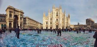 Monumenti di Milano Fotografie Stock