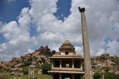 Monumenti forti di Chitradurga e rovine, il Karnataka immagine stock libera da diritti