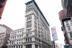 Monumenti storici di architettura di New York Immagini Stock Libere da Diritti