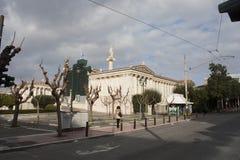 Monumenti storici di Atene Grecia fotografie stock libere da diritti