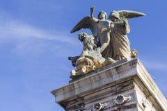Monumenti sull'altare della patria Fotografie Stock Libere da Diritti