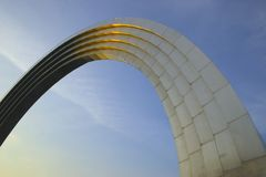 monumentmöte russia till ukraine Royaltyfria Bilder