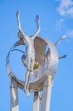 Monumentnolla Passageiro i den Londrina staden royaltyfri bild