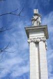Monumento à constituição de 1812, detalhe decorativo Fotografia de Stock