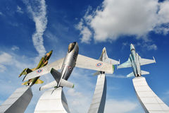 Monumento à força aérea tailandesa Fotografia de Stock Royalty Free