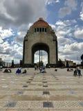 Monumento à revolução mexicana Fotografia de Stock Royalty Free