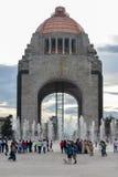 Monumento à revolução mexicana imagens de stock
