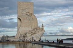 Monumento às descobertas Foto de Stock Royalty Free