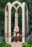 Monumento às vítimas de conflitos armados Kaliningrad, Rússia Imagens de Stock Royalty Free