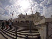 Monumento维托里奥Emanuele II 免版税库存图片