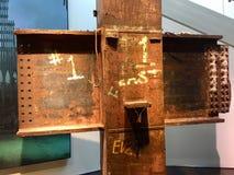 9/11 monumento Imágenes de archivo libres de regalías