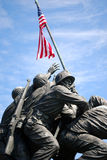 Monumento 3 di Iwo Jima Fotografie Stock