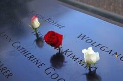 9/11 monumento Imagenes de archivo