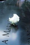 Monumento 9/11 Fotografía de archivo libre de regalías