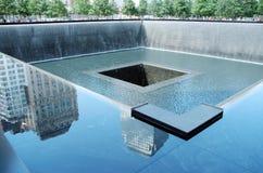 Monumento 9/11 Foto de archivo libre de regalías