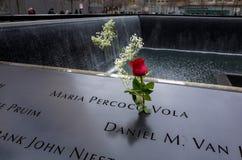 9/11 monumento Fotos de archivo libres de regalías