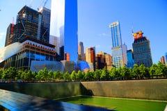 Monumento 911 Fotografía de archivo libre de regalías