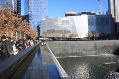 Monumento 911 Fotos de archivo libres de regalías