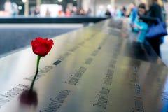 9-11 monumento Foto de archivo libre de regalías
