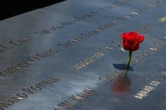 9-11 monumento Imagen de archivo libre de regalías