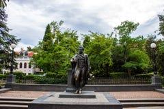 Monumento ad Aleksandar Pushkin immagine stock