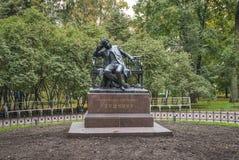 Monumento ad Alexander Pushkin fotografia stock