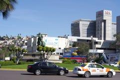 Monumento ad Ignacio Zaragoza in Zona Rio a Tijuana Immagine Stock