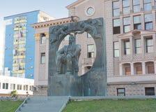 Monumento ad Ilya Chavchavadze fotografie stock libere da diritti