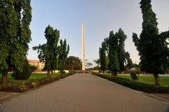 Monumento africano de la unidad - Accra, Ghana Foto de archivo libre de regalías