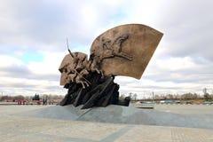 Monumento agli eroi ed ai soldati russi che sono morto nella prima guerra mondiale Immagine Stock