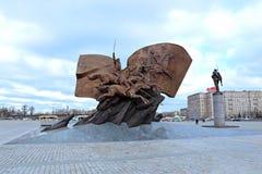 Monumento agli eroi ed ai soldati russi che sono morto nella prima guerra mondiale Immagine Stock Libera da Diritti