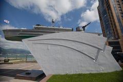 Monumento ai marinai Novorossijsk La Russia 21 05 17 Immagine Stock Libera da Diritti