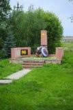 Monumento ai soldati della seconda guerra mondiale Immagine Stock Libera da Diritti
