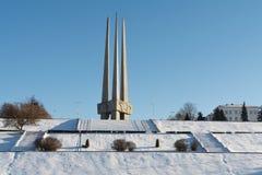 Monumento ai soldato-liberatori di grande guerra patriottica immagini stock