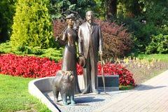 Monumento al alcalde de Riga (1901-1912) George Armistead y h Foto de archivo