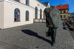 Monumento al burocrate sconosciuto Fotografia Stock