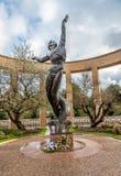 Monumento al caido en Normandía Fotos de archivo