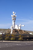 Monumento al Campesion designged by César Manrique  (Lanzarote Island Spain) Stock Images