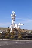 Monumento al Campesion designged by César Manrique  (Lanzarote Island Spain) Stock Images
